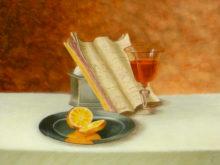 Jeanette van Kampen, vrij naar oude meesters, 30 x 40, tweede opdracht