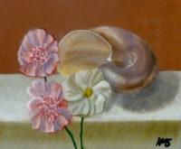 Rebecca Monkelbaan, vrij naar oude meesters,  30 x 40,  tweede opdracht