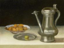 Ria Hofstee, vrij naar oude meesters, 30 x 40, tweede opdracht