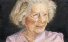 Camilla vd Hombergh, portret van Ata Kando naar foto van Meszaros  Marton, met toestemming, 25 x 40