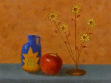 Yvonne Lamers, naar de waarneming, 30 x 40, derde opdracht
