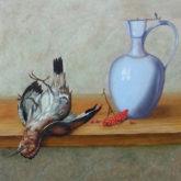 Ankie Hoffman, vrij naar oude meesters, 30 x 35, 2e opdracht