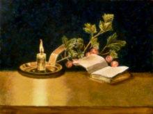 Mirjam Biesman, vrij naar Cleasz en Coorte, 30 x 40, 2e opdracht