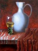 Renee de Boer, vrij naar oude meesters, 40 x 30, 2e opdracht