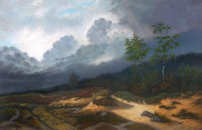 Betty Alink, naar Willem Roelofs,   90 x 140