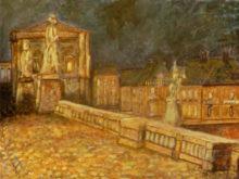 Hans Jonker, naar Le Sidaner, 30 x 40