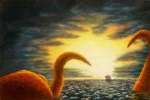 Geert vd Bogaart, Octopussy, 40 x 60