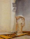 Diana van Reemst, naar Singer Sargent , 65 x 50