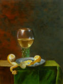 Hans Versteeg, vrij naar oude meesters, 40 x 30, 2e opdracht