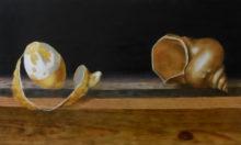 Hennie Lenderink, vrij naar oude meesters, 30 x 50, 2e opdracht