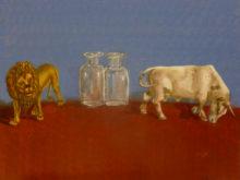 Rebecca Monkelbaan, naar de waarneming, 30 x 40, 3e opdracht