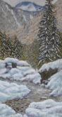Thea Jonker, sneeuw in het zonnetje, 61 x 32,5