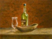 Hans vd Brink, naar de warneming, 30 x 40, 3e opdracht