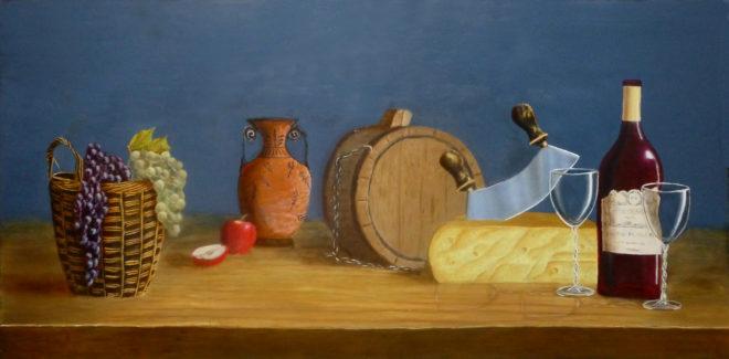 Giovanni Trani, het goede leven, 60 x 122, naar de waarneming