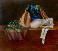 Corinne Roes, naar de waarneming, 3e opdracht, 37 x 40
