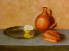 Henriette Groenveld, vrij naar oude meesters, 30 x 40, 2e opdracht