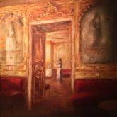 Camilla van den Hombergh, Caffe Florian, Venezia, 60 x 60