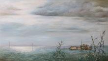 Jan Britsia, Het Wrak, 70 x 120