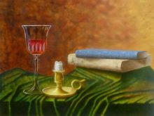 Tessa Windhoud, vrij naar oude meesters, 30 x 40, 3e opdracht