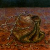 Tineke van Taarling, beursje, naar de waarneming, 20 x 20