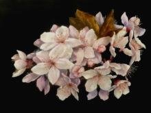 Tineke van Taarling, bloemenpracht, 30 x 40