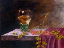 Werner Zander, vrij naar oude meesters, 30 x 40, 2e opdracht