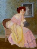 Hennie Janssen, naar E. Amman-Jean, 80 x 60