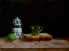 Berna van der Linden, naar de waarneming, 3e opdracht, 30 x 40