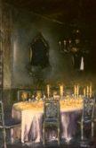 Camilla van den Hombergh, Gedekte tafel in palazzo, Venetië