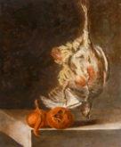 Helma Nijenhuis, vrij naar Chardin, 40 x 30, 2e opdracht