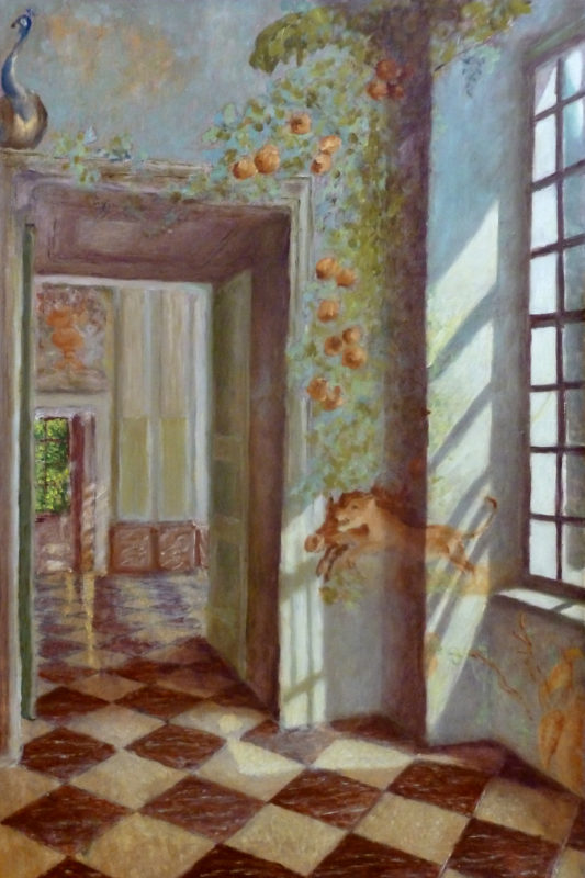 Willemijn van Oort, trompe l oeil, 60 x 40