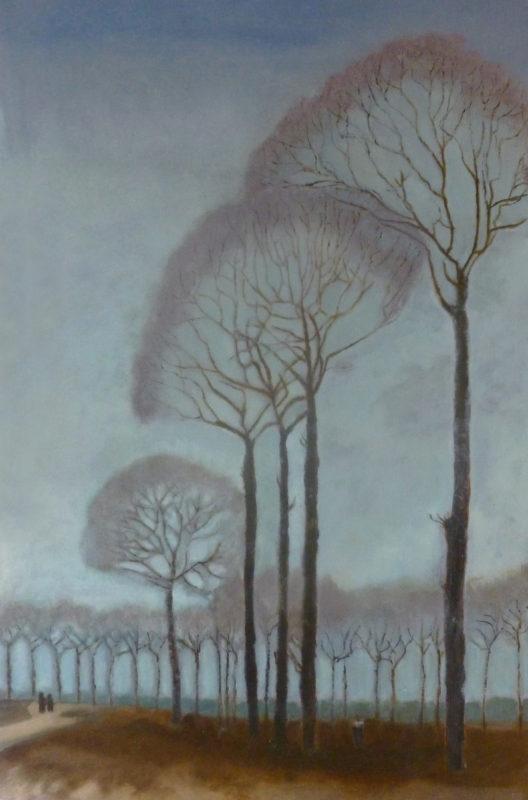 Hennie Janssen, naar Jan Mankes, 50 x 33