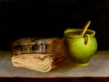 Alieke van Oostrum, vrij naar oude meesters, 30 x 40, 2e opdracht