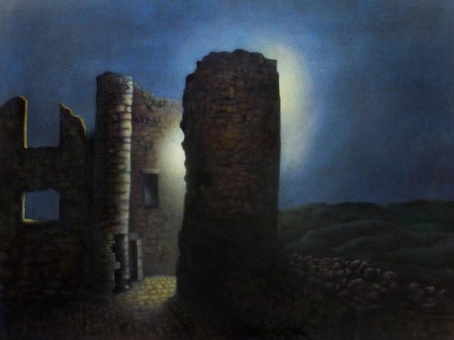 Marita Zuurhout, Zie de maan…., 60 x 80