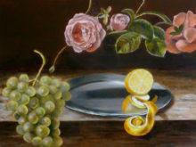 Debora Muijs, vrij naar oude meesters, 2e opdracht, 30 x 40