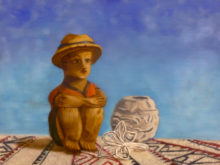 Hetty Neyenhuis, naar de waarneming, 3e opdracht, 30 x 40