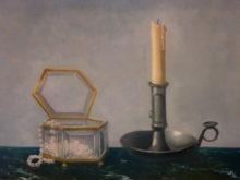 Renee de Boer, naar de waarneming, 3e opdracht, 30 x 40