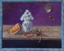 Roger van den Velden, naar de waarneming, 40 x 50