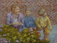 Tineke van Taarling, mijn jeugd, 30 x 40
