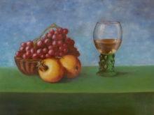 Tom van Hoof, vrij naar oude meesters, 2e opdracht, 30 x 40