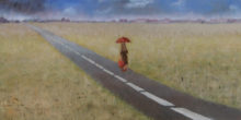 Willemijn van Oort, it's a long road, 30 x 60
