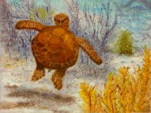 Jeanette Harmsen, vrij als een vogel, 5e opdracht, 30 x 40