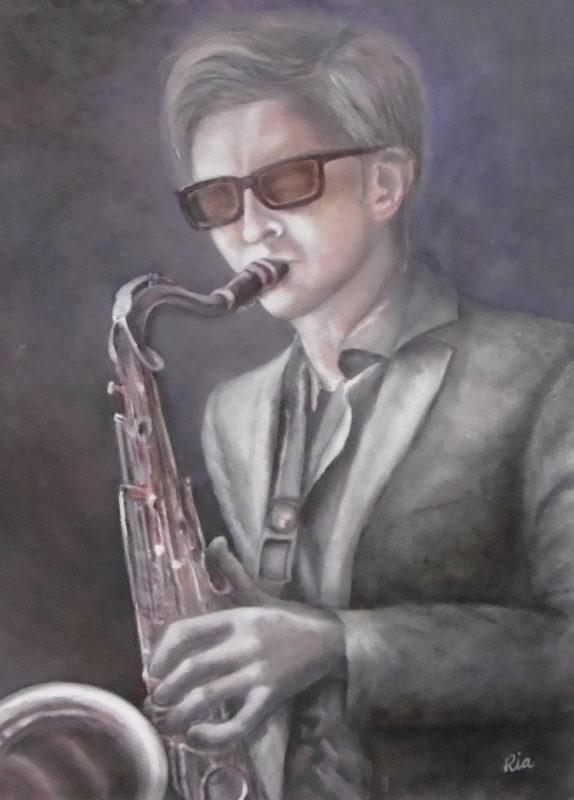 Ria Hofstee, persoonlijke muziek, 70 x 50