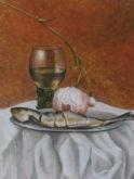 Anita van Vliet, vrij naar oude meesters, 2e opdracht, 40 x 30